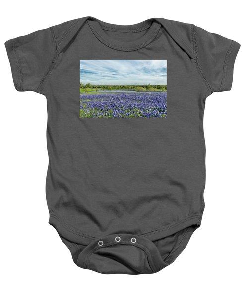 Texas Bluebonnets 13 Baby Onesie