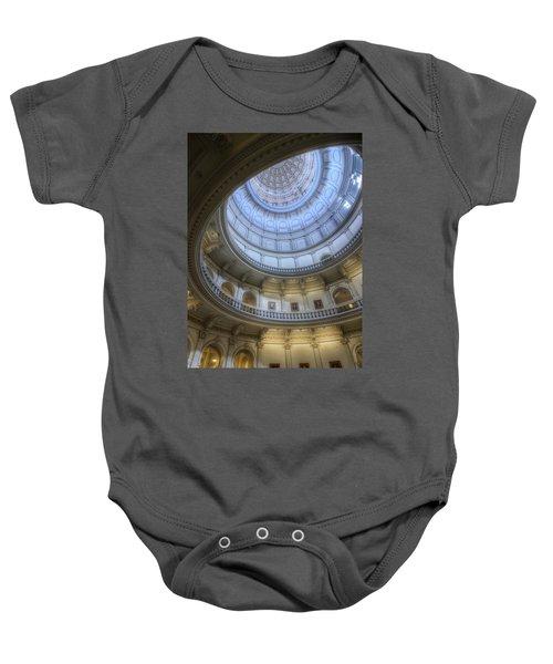 Texas Capitol Dome Interior Baby Onesie