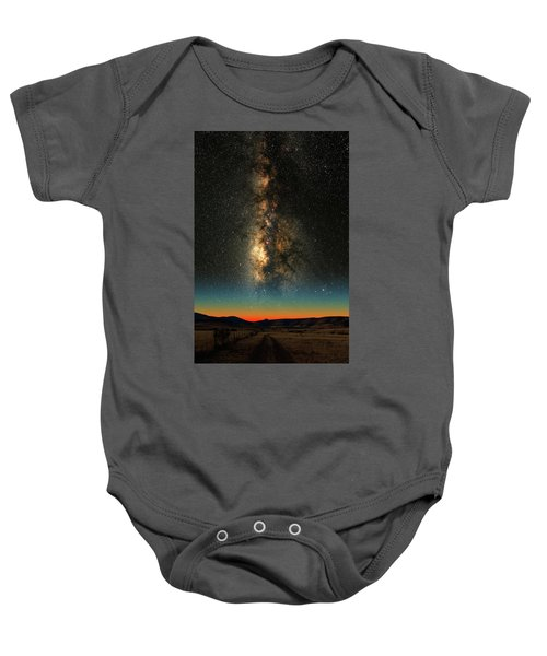 Texas Milky Way Baby Onesie