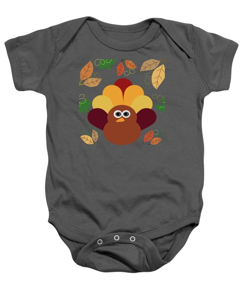 Thanksgiving Turkey Baby Onesie by UMe images