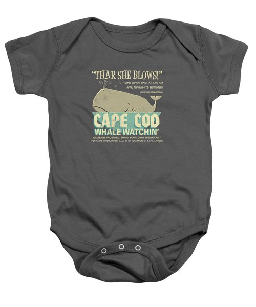 Thar She Blows Baby Onesie