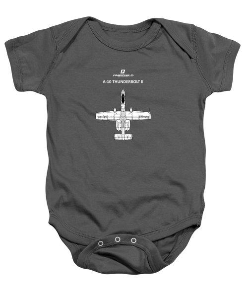 The A-10 Thunderbolt Baby Onesie