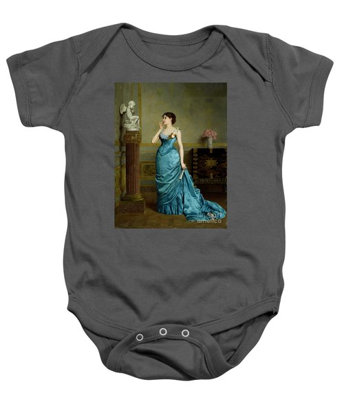 The Accomplice Baby Onesie