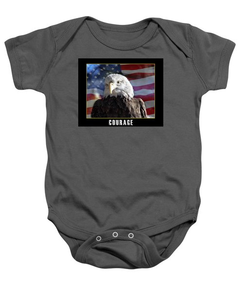 The American Bald Eagle Baby Onesie