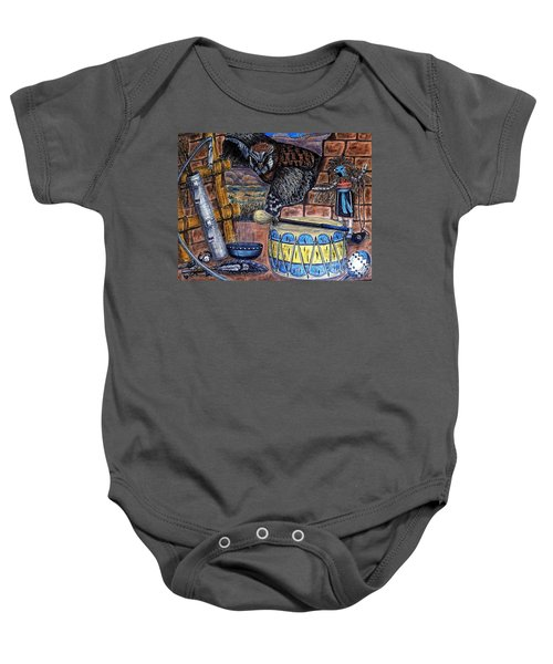 The Answer Comes Baby Onesie