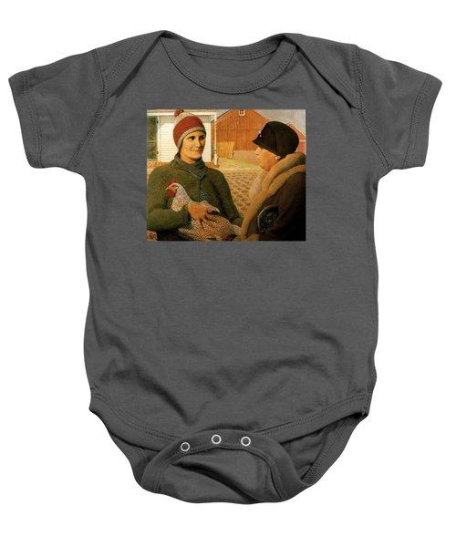 The Appraisal Baby Onesie
