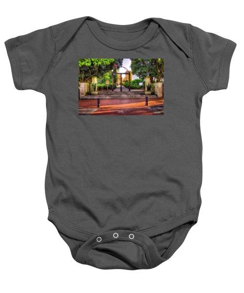 The Arch 4 University Of Georgia Arch Art Baby Onesie