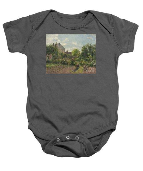 The Artist's Garden At Eragny Baby Onesie