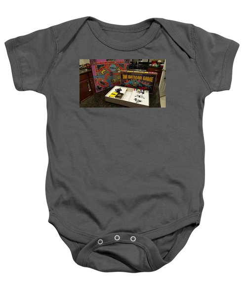 The Batman Game Baby Onesie