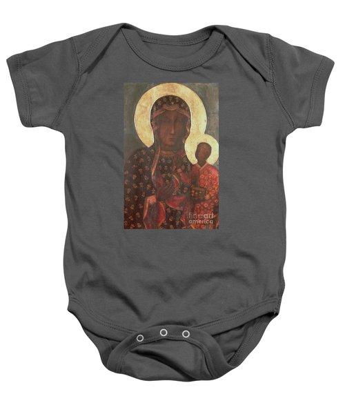 The Black Madonna Of Jasna Gora Baby Onesie