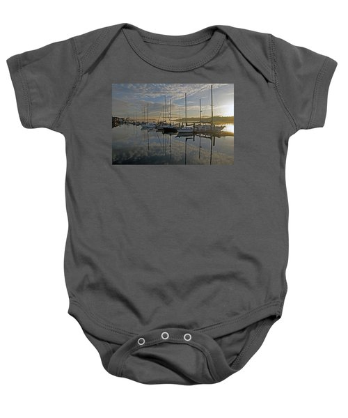 The Blue And Beyond Baby Onesie