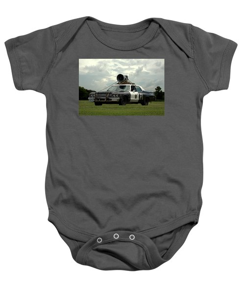 The Bluesmobile Baby Onesie