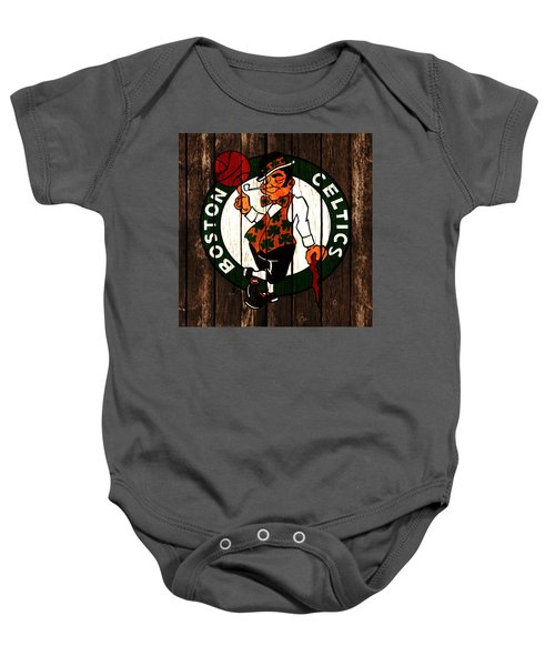 The Boston Celtics 2d Baby Onesie