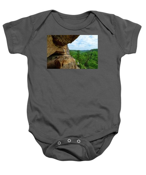 The Boulders Edge Baby Onesie