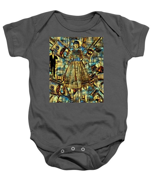 The Business Of Humans Baby Onesie