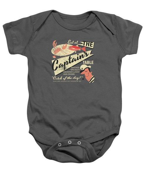 The Captain's Table Baby Onesie