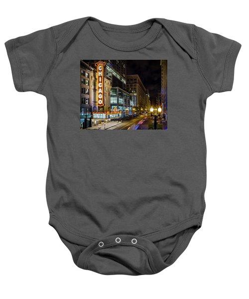 Illinois - The Chicago Theater Baby Onesie