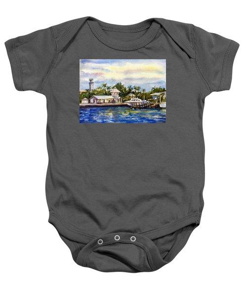 The Coast Of Nassau Baby Onesie