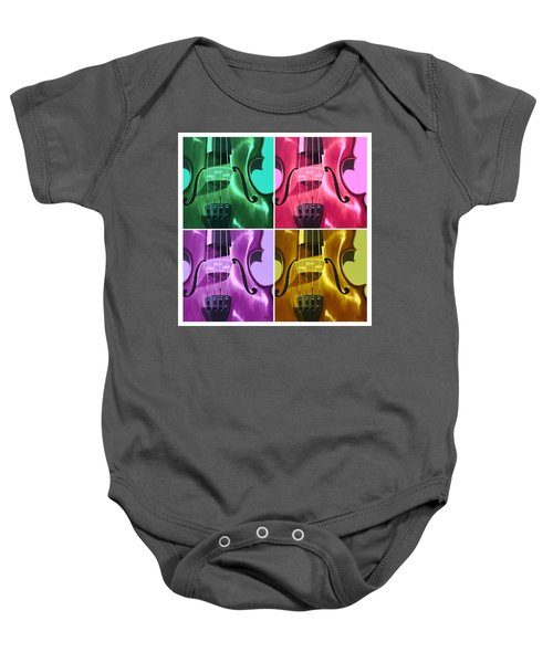 The Colors Of Sound Baby Onesie