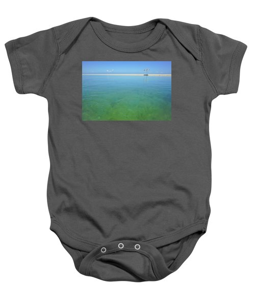 The Colours Of Paradise On A Summer Day Baby Onesie