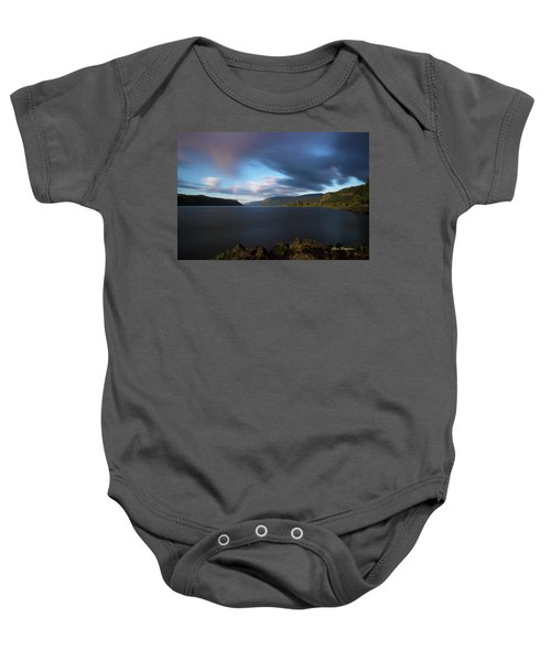The Columbia River Gorge Signed Baby Onesie