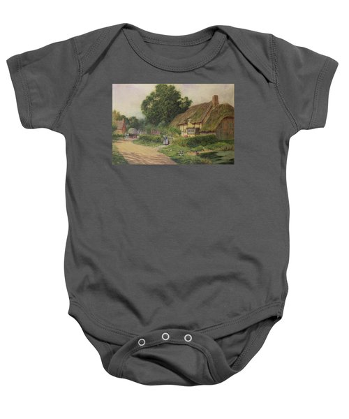 The Coming Of The Haycart  Baby Onesie