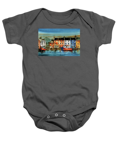 The Commercial Docks, Galway Citie Baby Onesie