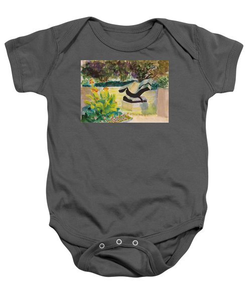 The Corinthian Garden Baby Onesie