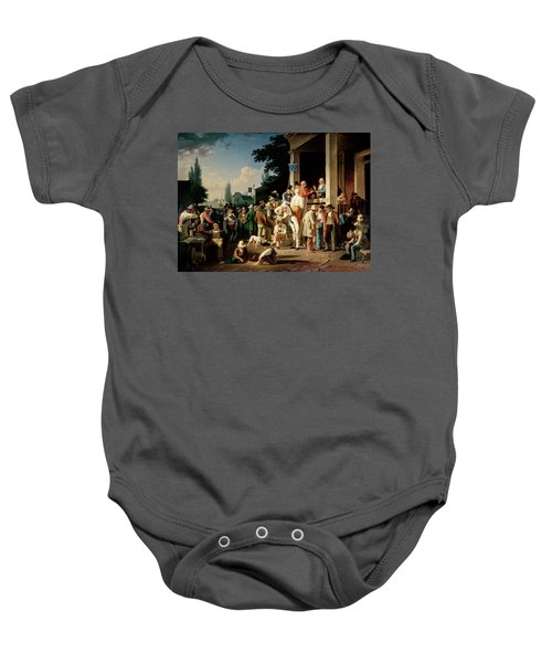 The County Election Baby Onesie