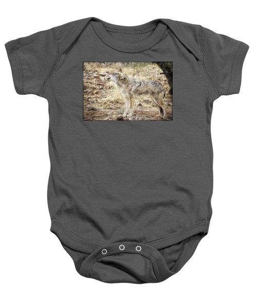 The Coyote Howl Baby Onesie