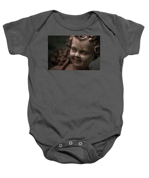 The Creepy Statue Baby Onesie