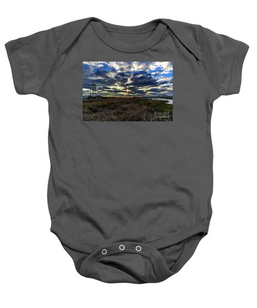 The Cross Baby Onesie
