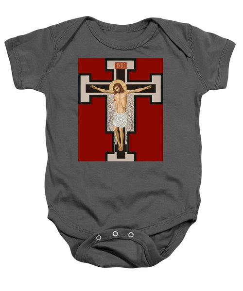 The Crucified Lord 017 Baby Onesie