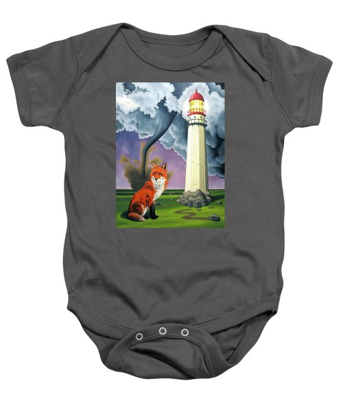 The Day The Rocks Ran Away Baby Onesie
