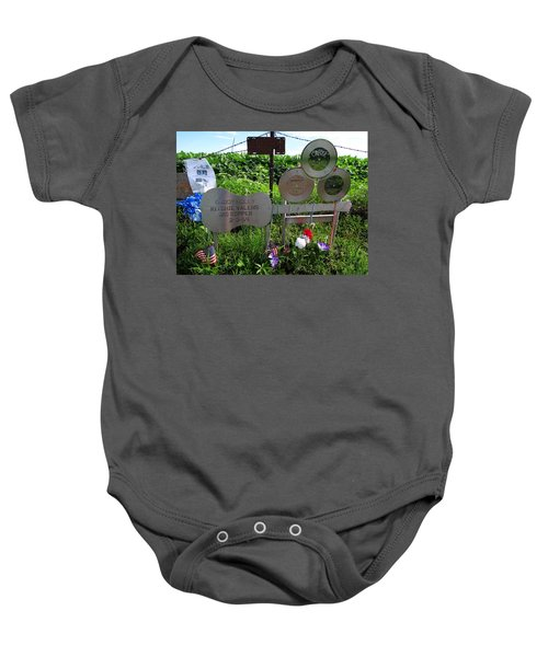 The Day The Music Died Baby Onesie