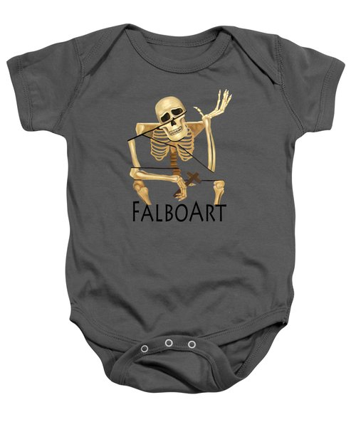 The Dead In Christ Baby Onesie
