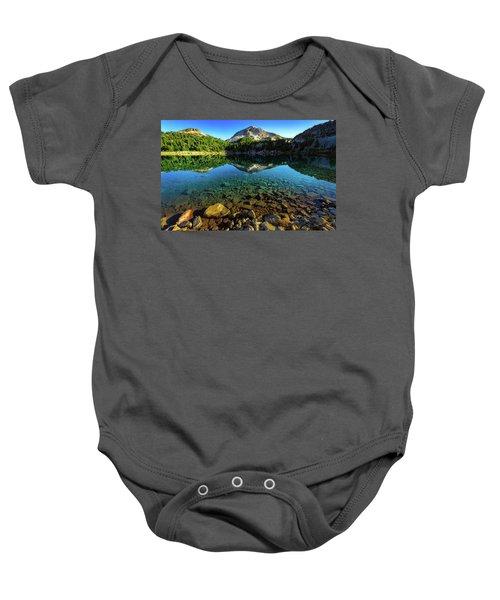 The Depths Of Lake Helen Baby Onesie