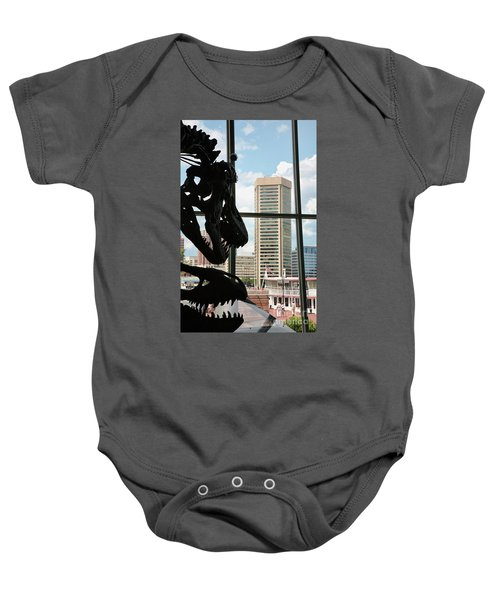 The Dinosaurs That Ate Baltimore Baby Onesie