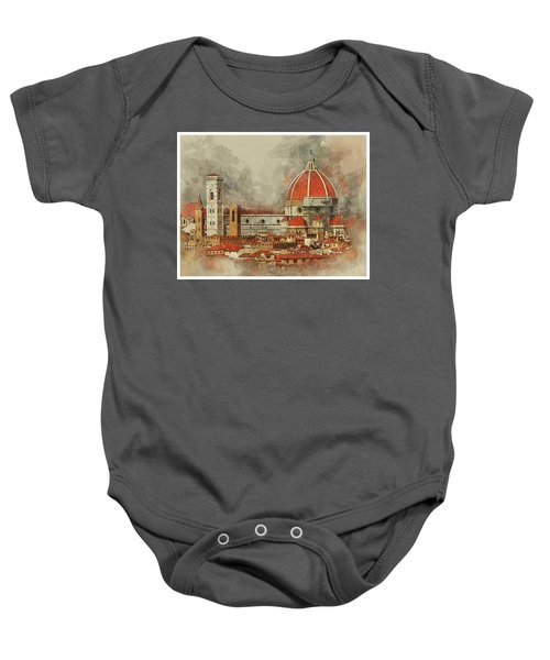 The Duomo Florence Baby Onesie