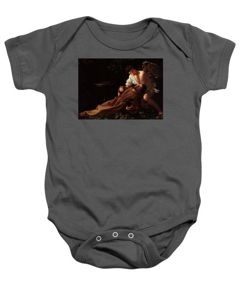 The Ecstacy Of Saint Francis Of Assisi Baby Onesie