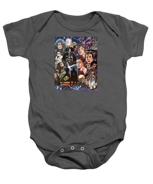 The Empire Strikes Back Baby Onesie