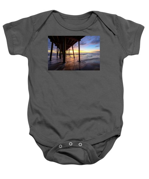 The Enchanted Pier Baby Onesie