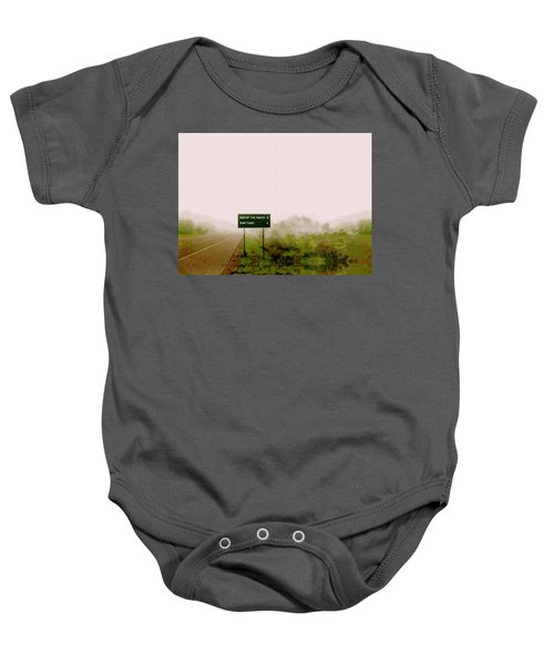 The End Of The Earth Baby Onesie