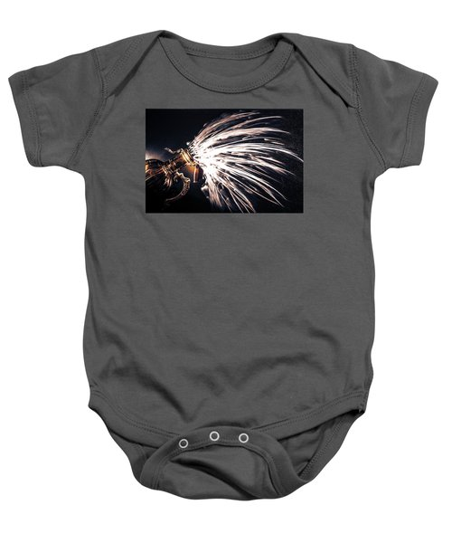 The Exploding Growler Baby Onesie