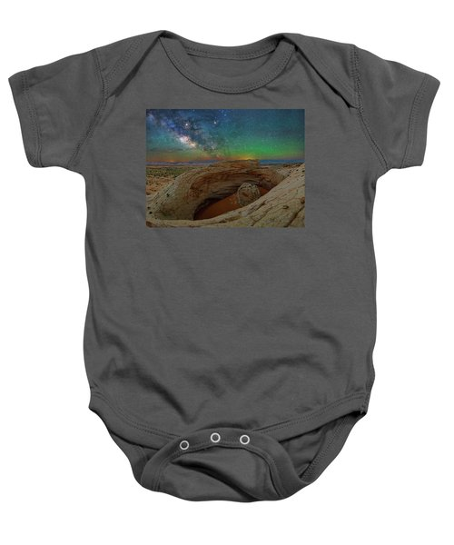 The Eye Of Earth Baby Onesie