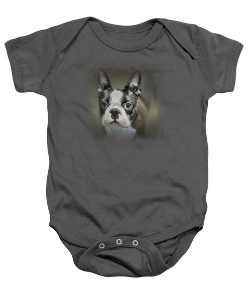 The Face Of The Boston Baby Onesie
