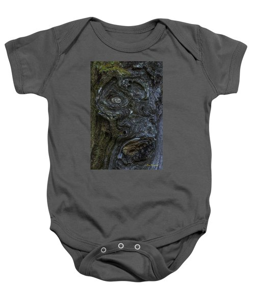The Face Signed Baby Onesie