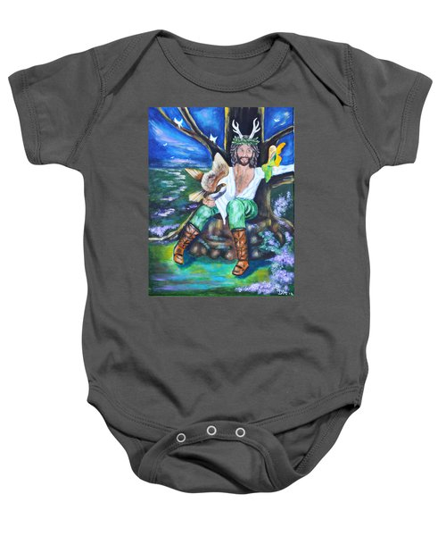 The Faery King Baby Onesie