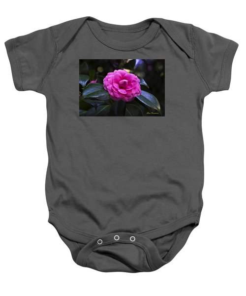 The Flower Signed Baby Onesie