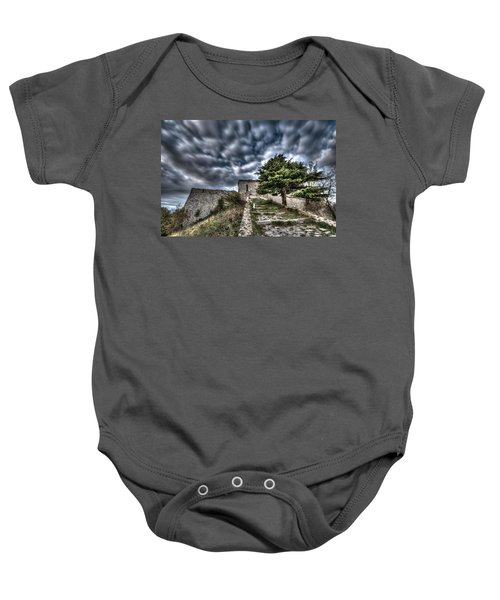 The Fortress The Tree The Clouds Baby Onesie